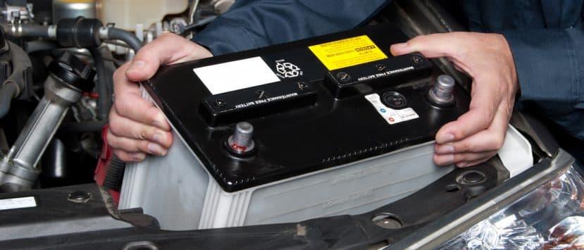 autobatterie-laden