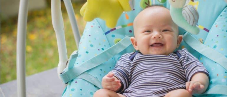 babywippe neugeborene säugling