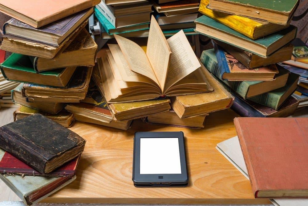 Bibliothek E-Reader
