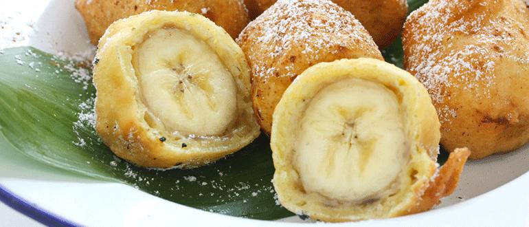 bananen frittiert