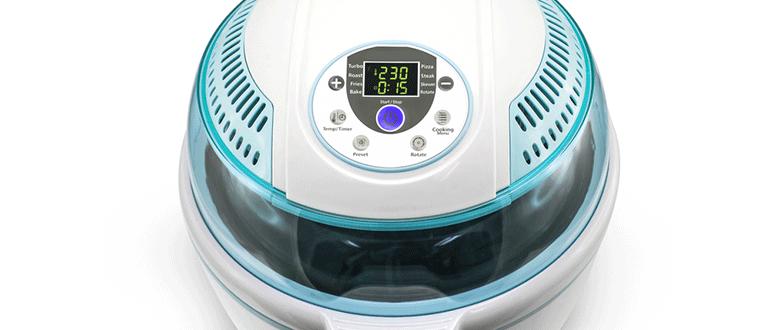 temperaturanzeige heiluftfritteuse