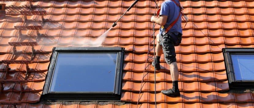 Hochdruckreiniger fürs Dach