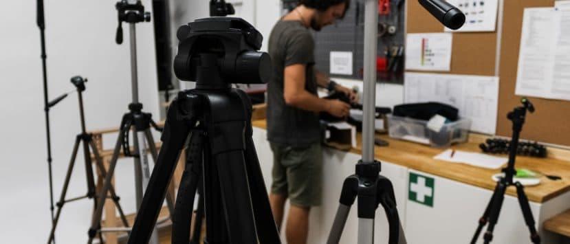 Kamera-Stativ-Test
