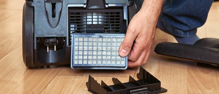 beutelloser Staubsauger mit HEPA-Filter