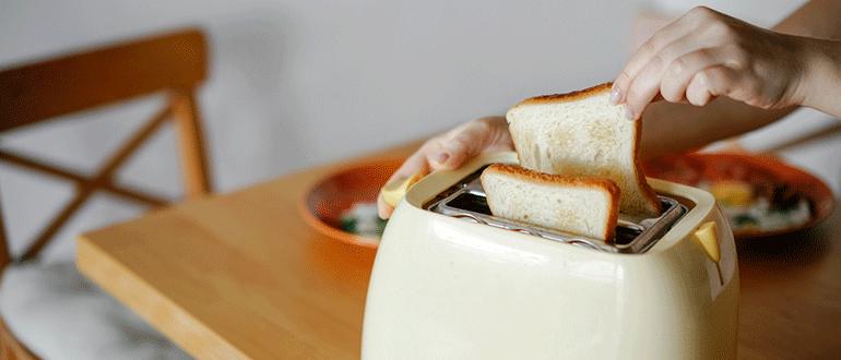 toaster toast entnehmen