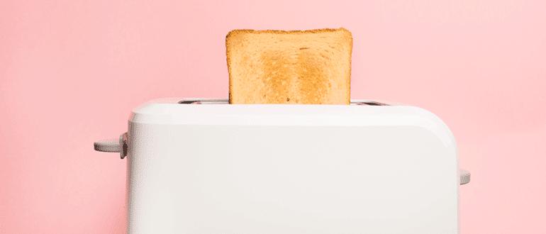toast im toaster