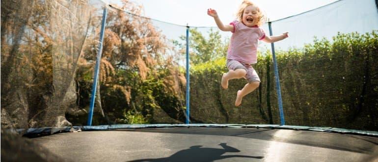 trampolin für kinder trampolin groß trampolin draußen trampolin innen