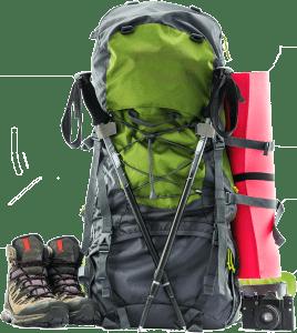 Wanderrucksack Trekking Mehrtagestouren Groß