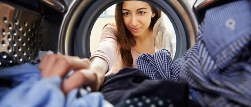 Waschtrockner Waschmaschine und Trockner Gerät trocken
