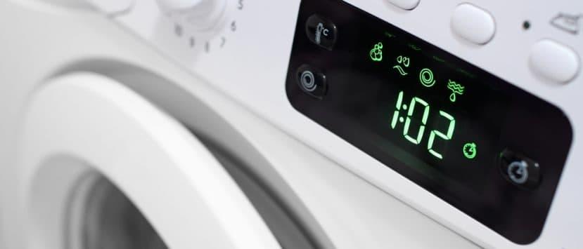 Trockner Waschmaschine Display Zeit