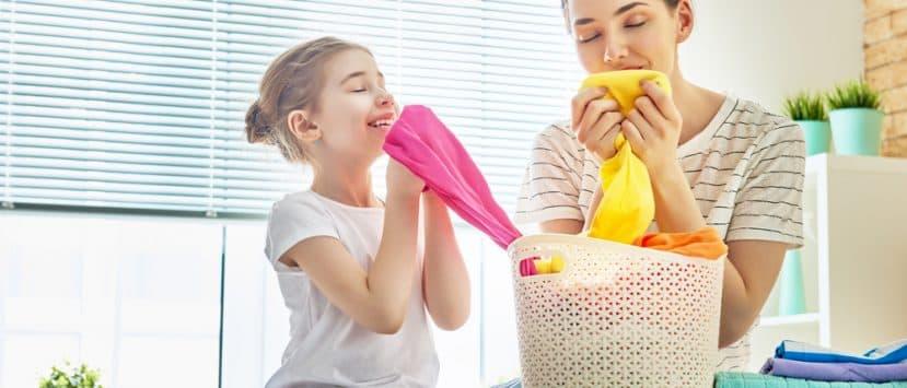 Weiche Wäsche ohne Weichspüler Waschtrockner besonders schonend.