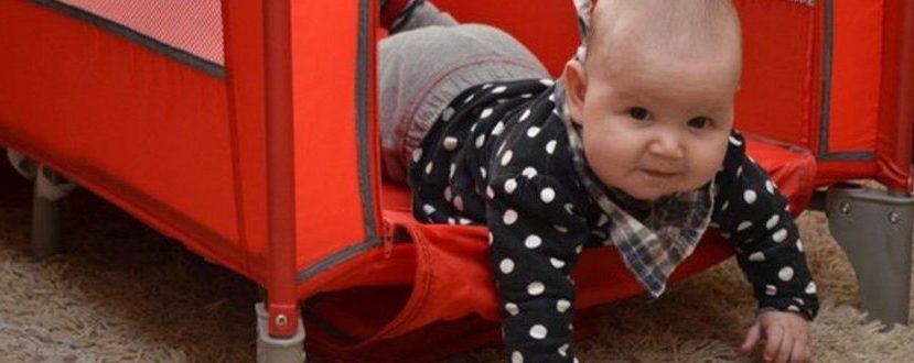Baby-Reisebett-Test