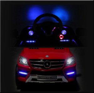 Richtige Beleuchtung von Kinderautos