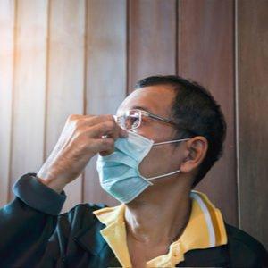 Brillenträger-Mundschutzmaske-Test