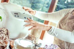 Brotbackautomat Dauer einstellen
