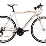Crossbike mit Standardlenker