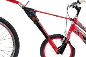 Fahrradabschleppstangen nur für Fahrrad geeignet