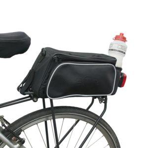 Getränkehalterung an Fahrradtasche