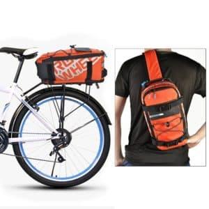 Gepächträgertasche fürs Fahrrad