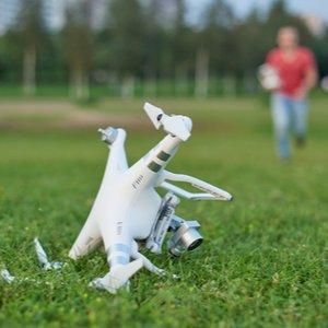 Abgestürzte Drohne, deren Schadendurch Haftpflichtversicherung gedeckt wird