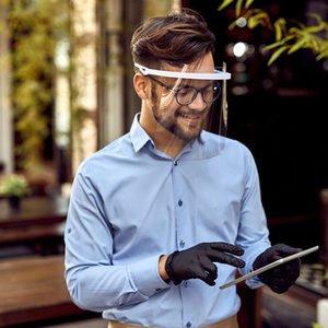 Mundschutzmaske-für-Brillenträger Schutzvisier
