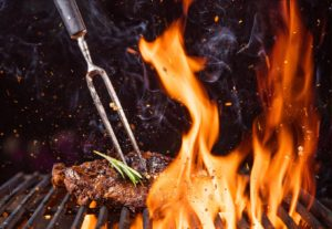 grill offenes feuer