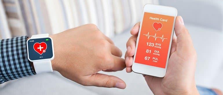 Smartphone App für Pulsuhren