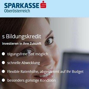 Übersicht zu Studienkredit der Erste Sparkasse