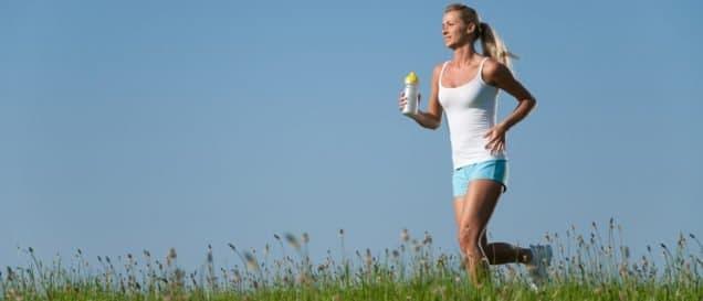 Trinkflasche-Sport Test