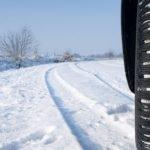 Winterräder im Schnee